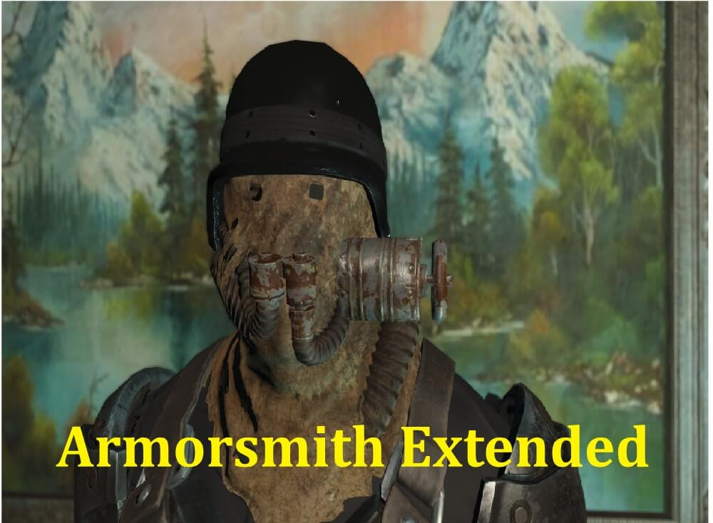 Best MOD for Fallout 4 Armorsmith Extended - Best Action Game Series