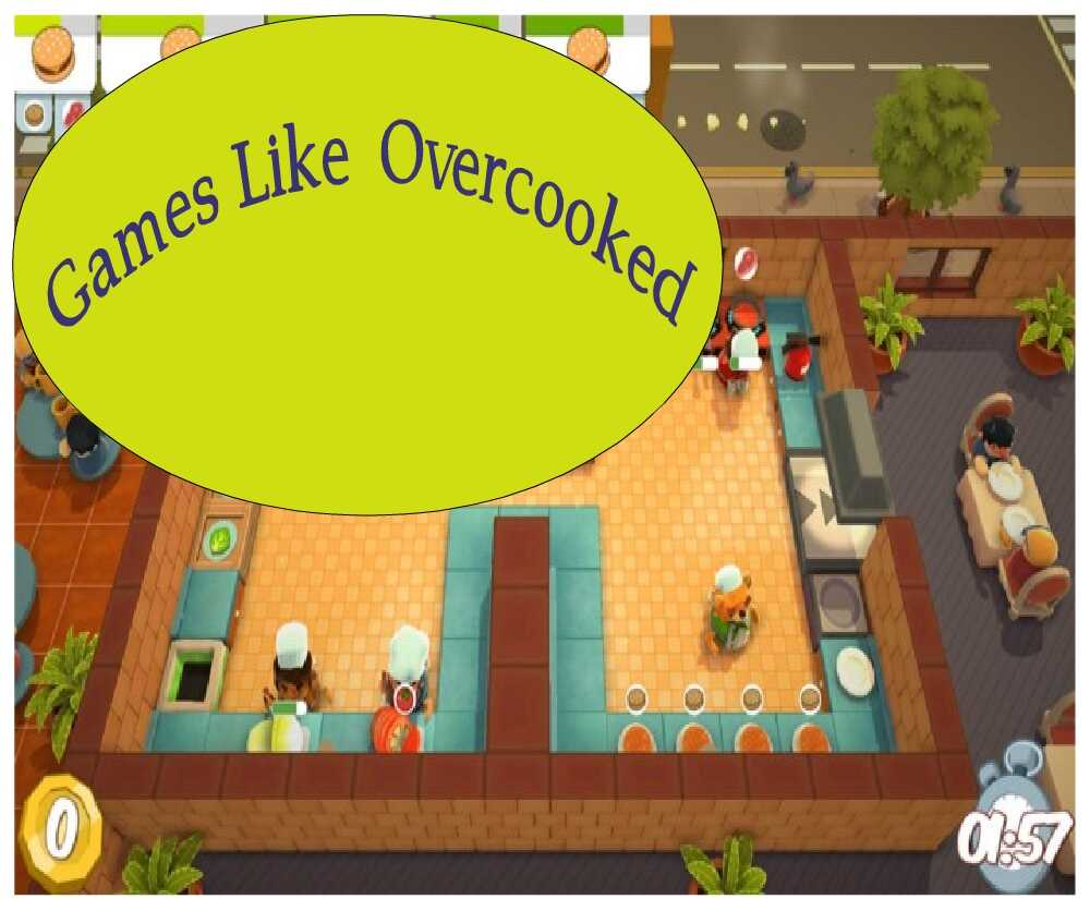Top 6 Games Like Overcooked - Top Simulation Games of all Time