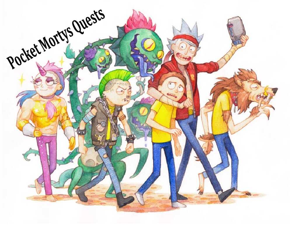 Best 20 Pocket Mortys Quests – Best RPG similar to Pokemon