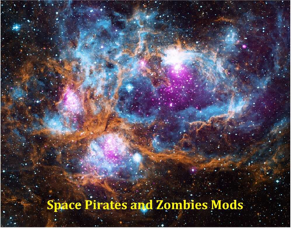 Space Pirates and Zombies Mods - Fight Large Battles on Space & Planets