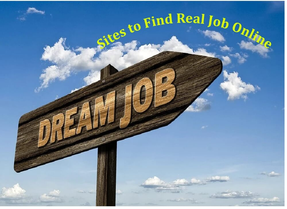 Sites to Find Real Job Online