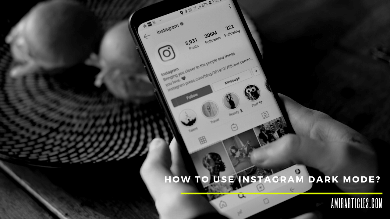 How to Use Instagram Dark Mode