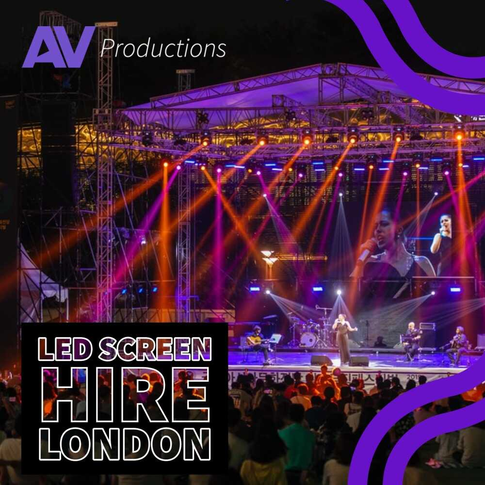 Achieve with An LED Screen