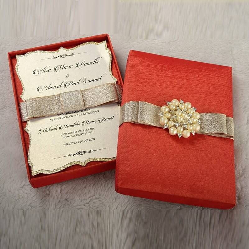 Guide About Special Features Of The Customized Wedding Card Boxes