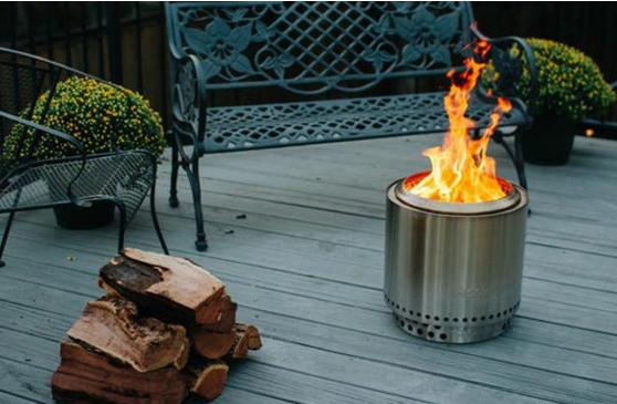 Patio Parties With Fire Pit - Extend the patio with a fire pit