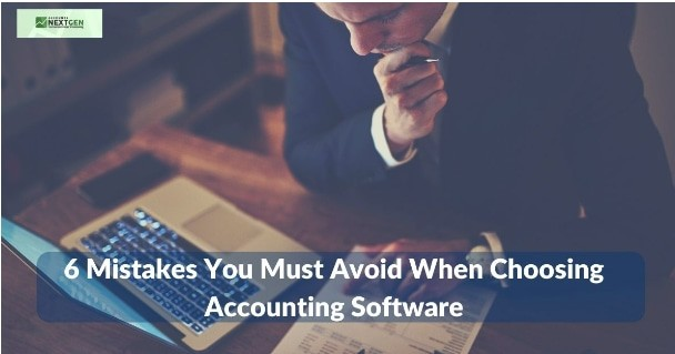 Mistakes Choosing Accounting Software