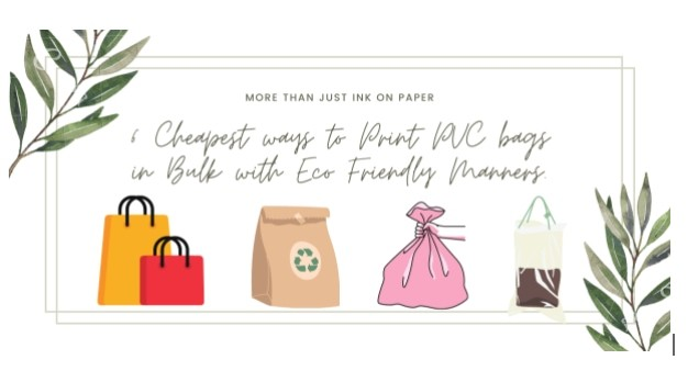 Ways to Print PVC Bags in Bulk