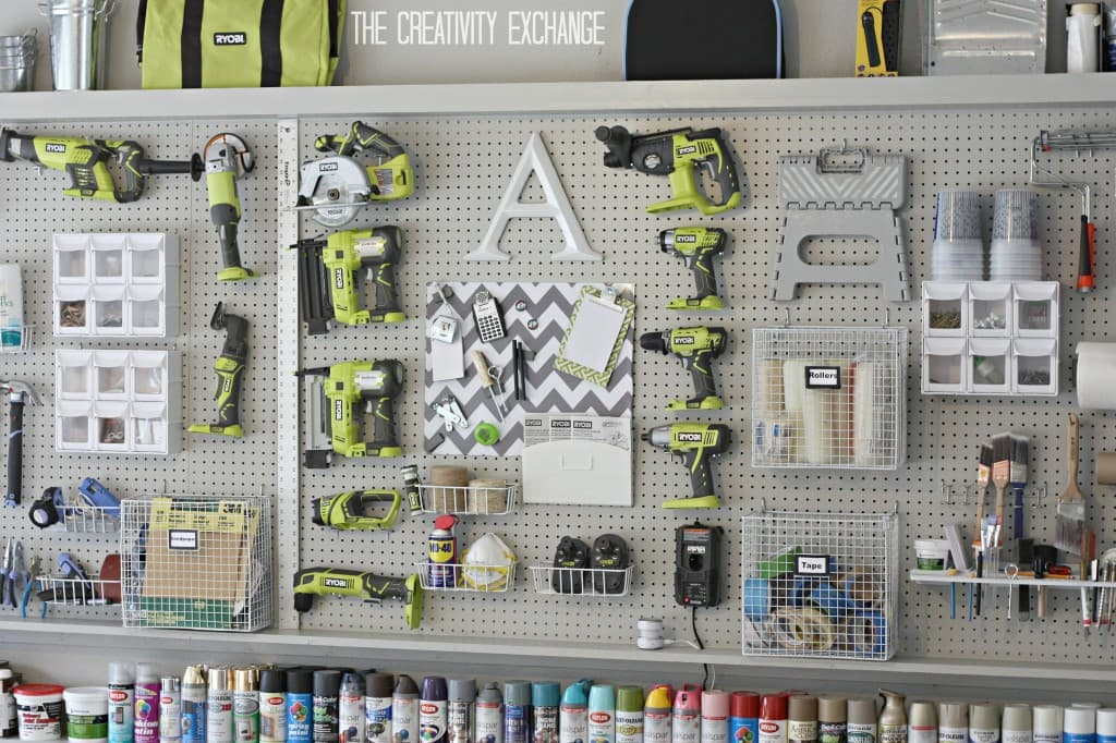 Decorate Your Home with Pegboards