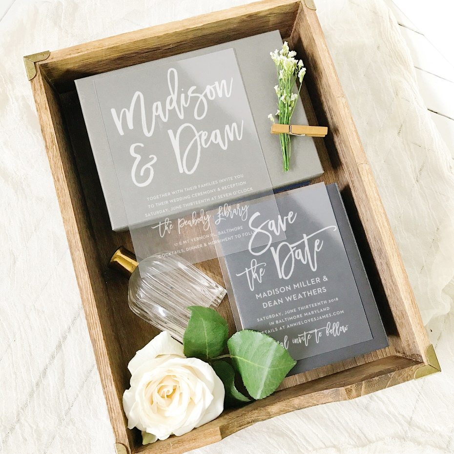 How To Frame Your Wedding Invitations To Hang In Your Home