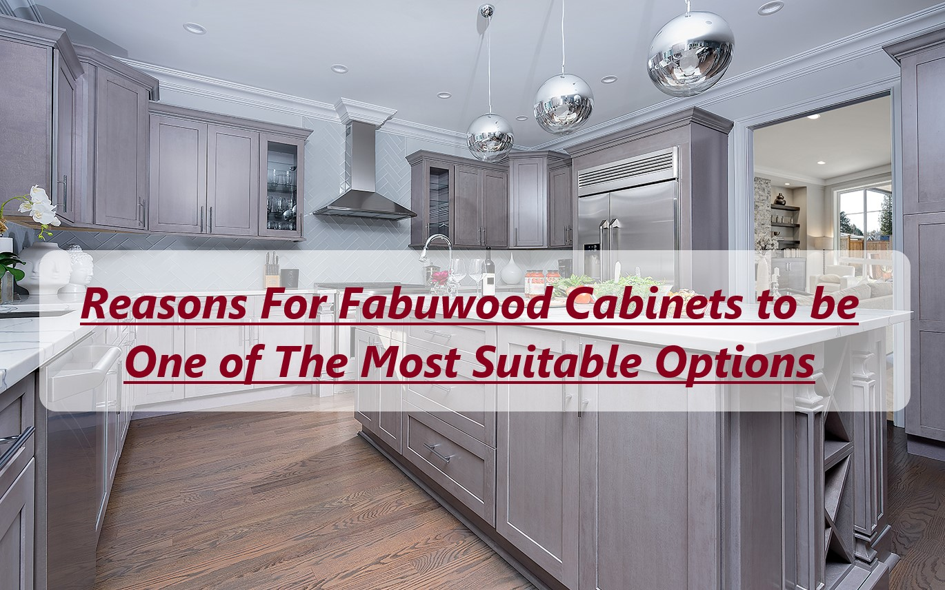 Reasons For Fabuwood Cabinets to be One of The Most Suitable Options
