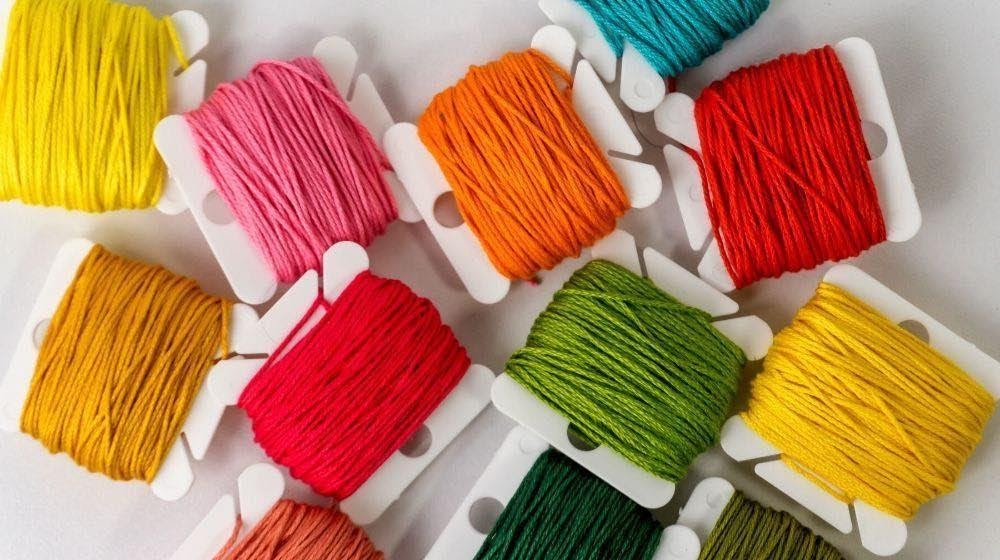 Embroidery Threads For Machine