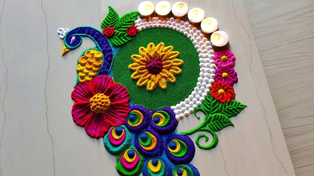 How to Make the Best Rangoli Designs? - Amir Articles