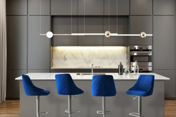 How to Use Blue Velvet Barstools for Your Home Interior Décor?