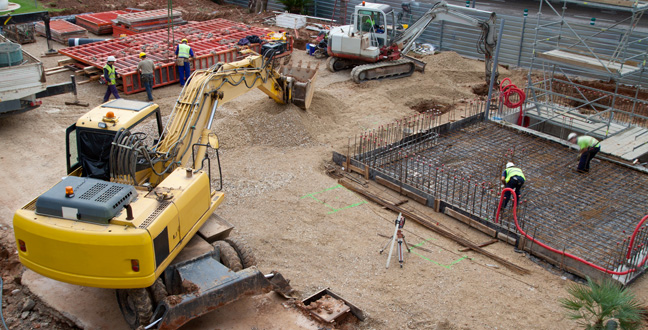 Services Provided by Groundwork Contractor in London: