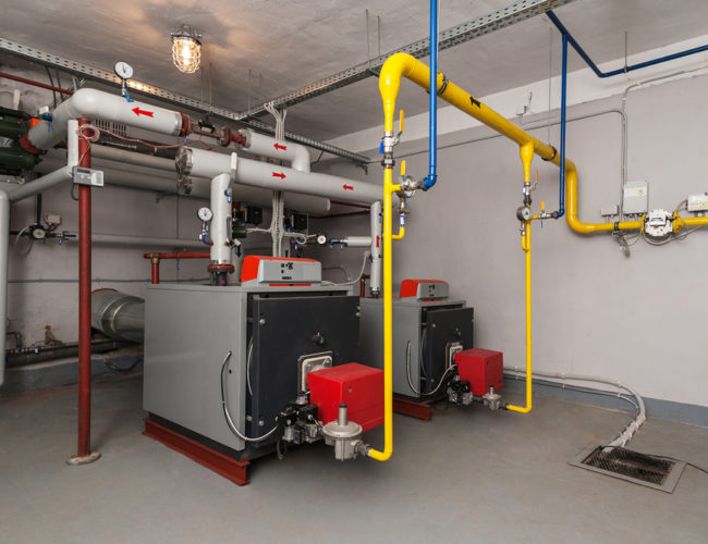 Domestic and Commercial Boilers! Two in One Machine: